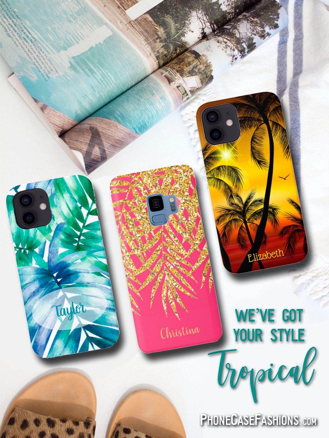Tropical Cell Phone Cases